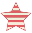 Stars with lines decoration design vector image