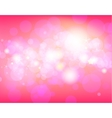 Pink festive background vector image vector image