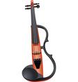 rock violin vector image vector image