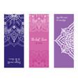 set colorful yoga mat pattern vector image vector image