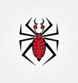 spider tribal image vector image vector image