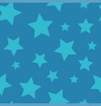 starry night - seamless background pattern vector image