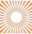 sunbeam vector image vector image
