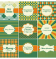 Christmas vintage backgrounds vector image