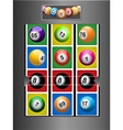 Fruit Machine and jackpot background vector image vector image