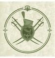 Hussar emblem-1 vector image