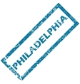 Philadelphia rubber stamp vector image vector image