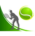 Sport background tennis woman