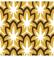 Vintage hand drawn art deco pattern vector image