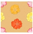 Wild rose seamless vector image