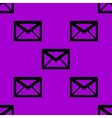 mail envelope web icon flat design Seamless vector image