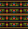 navajo weaving fashion seamless pattern vector image vector image