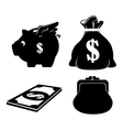 save the money theme design icon vector image