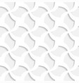white 3d seamless texture - similar to paper vector image vector image