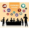 Cooking People Concept vector image
