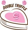 Double Truffle vector image vector image