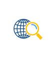 find logistic logo icon design vector image
