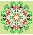 funny panda vector image vector image