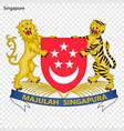 national emblem or symbol vector image vector image