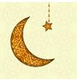 Ramadan Kareem greeting design background vector image vector image