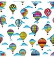 air balloon pattern vector image vector image