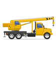 cargo truck 22 vector image vector image