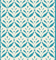 classic blooming blue fabric pattern wallpaper vector image