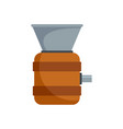 cognac tool production icon flat style vector image