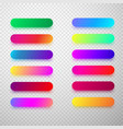 colorful isolated rounded icon templates vector image vector image