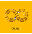 create concept vector image vector image