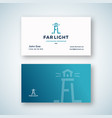 far light abstract sign or logo and vector image vector image