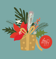 Festive compositions vector image vector image