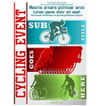 sport event poster cycling