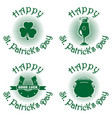 symbols set for st patricks day vector image vector image