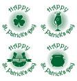 symbols set for st patricks day vector image