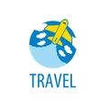 air travel logo vector image