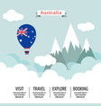 australia country flat vector image