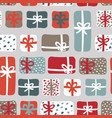 gift boxes pattern vector image