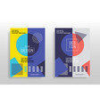 Minimal abstract design posters covers templates