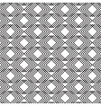 Monochrome abstract transparent fabric pattern vector image vector image