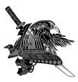 new samurai 0007 vector image