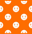 suspicious emotpattern seamless vector image vector image