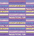 textured stripes seamless pattern bright vector image vector image