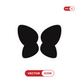 butterfly wings icon vector image vector image
