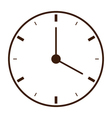 Clock icon School vector image