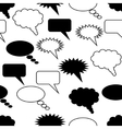 communication seamless pattern vector image vector image