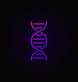 dna colorful concept icon or logo element vector image