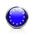 European Union EU flag vector image vector image