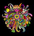 floral background sketch for your design vector image vector image