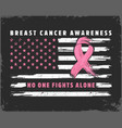 no one fights alone breast cancer awareness month